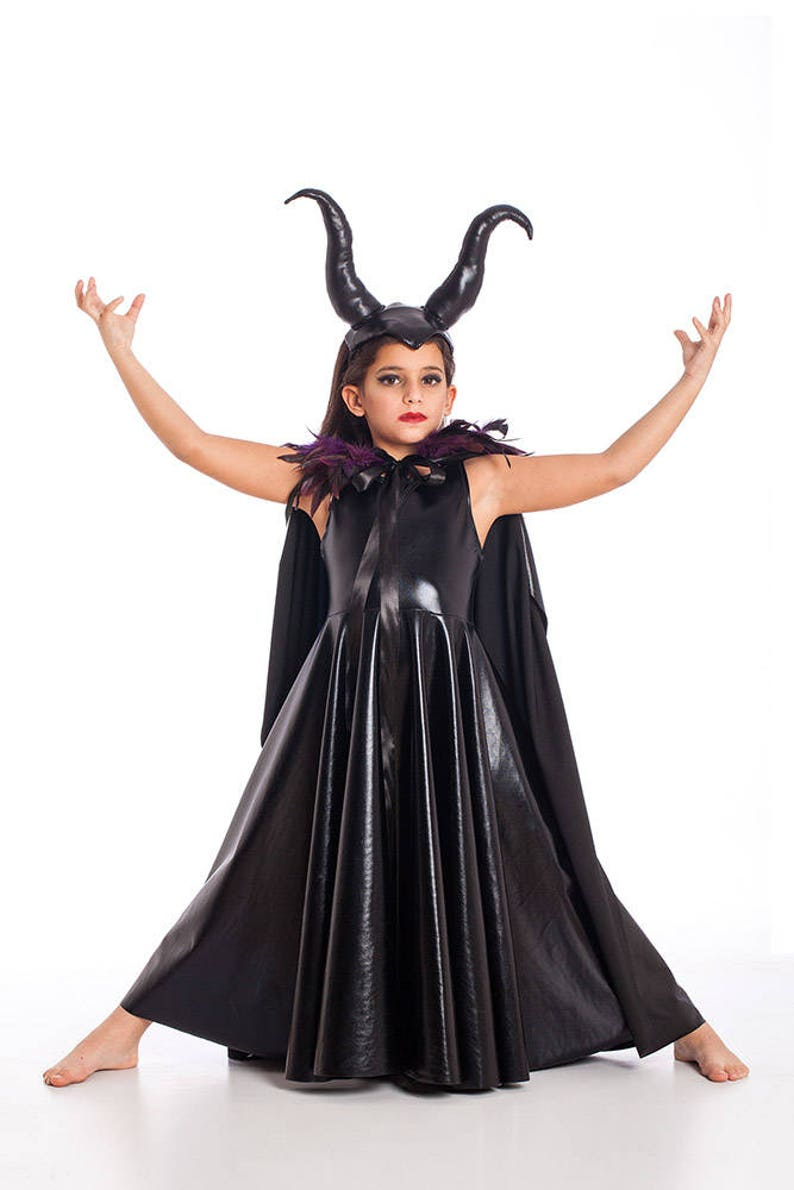 Halloween Costumes For Kids Girls 9.Girls Maleficent Costume Halloween Costumes Kids Costumes Girls Halloween Costume Maleficent Horns Girls Toddler Costume