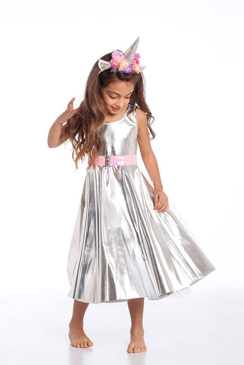 132be4a819eed Halloween Costumes, Girls Costumes, Kids Costumes, Girls Halloween Costume,  Shiny Dress, Unicorn Costume, Unicorn Birthday, Unicorn Dress.