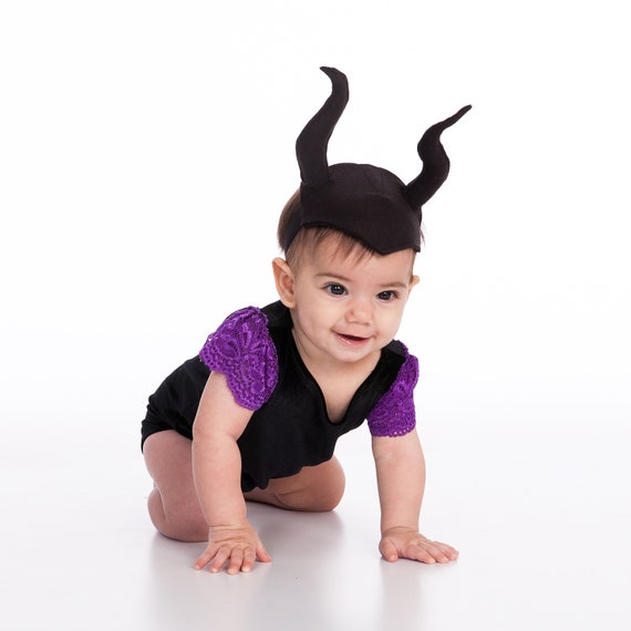 Baby Costume Maleficent Costumes Girls Toddler Costume 1st Birthday Girl Black Outfit