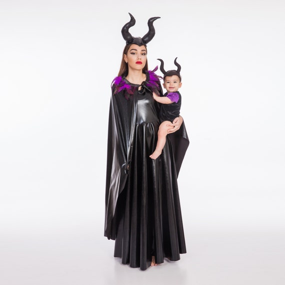 Mommy And Me Costume Maleficent Costumes Kids Costumes Girls Halloween Costume Maleficent Horns Girls Toddler Costume