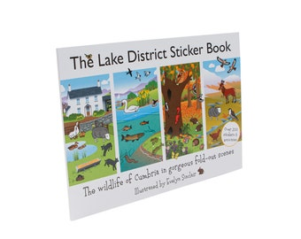 Lake District Sticker Book| Child's activities| Educational gift