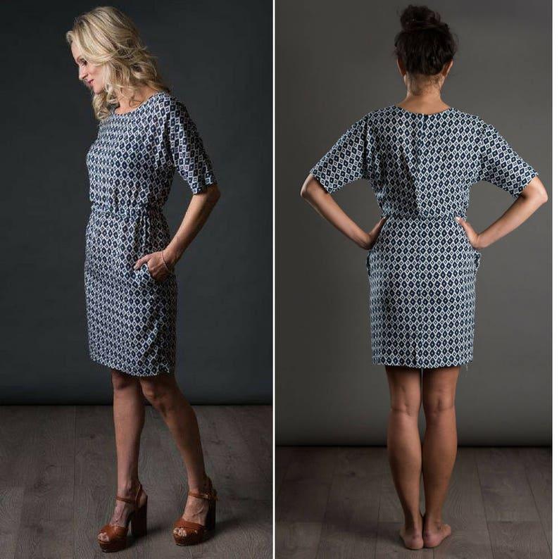 THE AVID SEAMSTRESS  The Sheath Dress   Digital sewing image 1