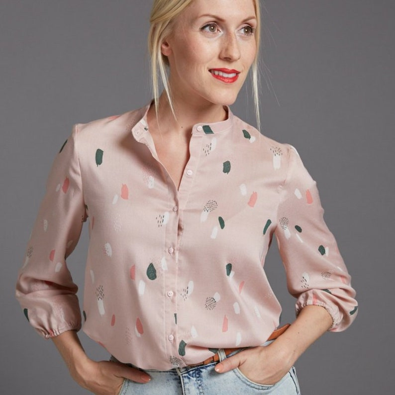 THE AVID SEAMSTRESS  The Blouse  Digital sewing pattern image 0