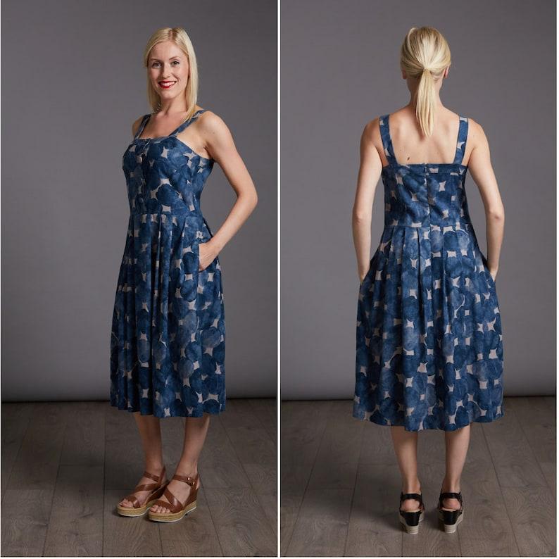 THE AVID SEAMSTRESS  The Sun Dress Dress  Digital sewing image 1