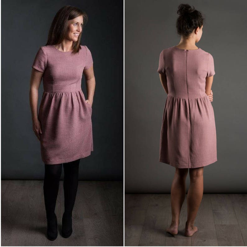 THE AVID SEAMSTRESS  The Day Dress   Digital sewing pattern image 1