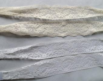 Bridal Sash Ivory Waist Sash for Bridal, Bridesmaid, Flower Girl, Kitchen Tea, Head band