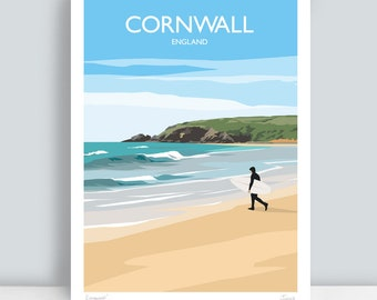 Home Décor Items hanging decorations Ilfracombe 4 Seaside Scenes Print Poster A4 A3 A2 A1