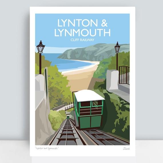 Vintage Sothern Railways Seaton Devon Railway Poster A4//A3//A2//A1 Print