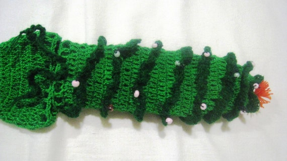 Christmas Tree Hand Knitted Underwear Penis Warmer Cock Sock Etsy