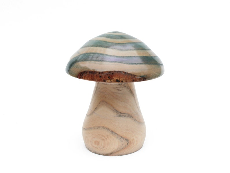 Iridescent Decorative Mushroom image 0