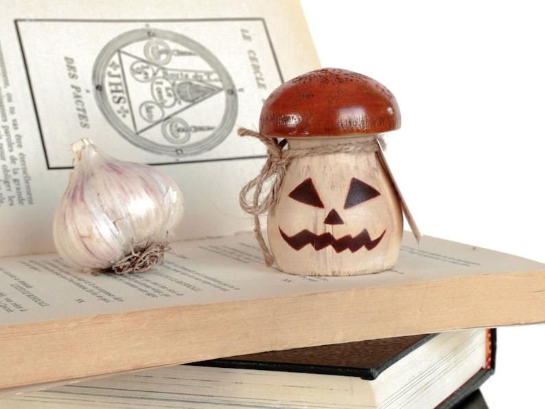Little Pumpkin Mushroom Halloween Decoration  image 0