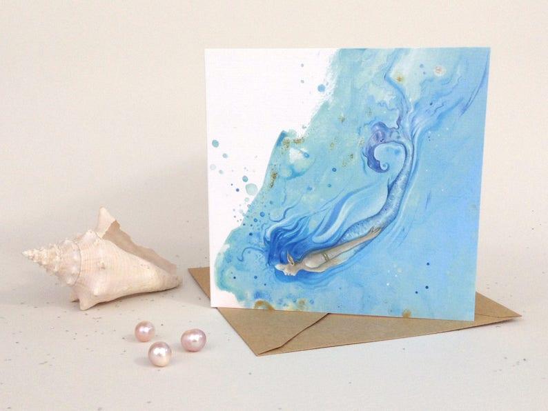 Mermaid Greeting Card image 0