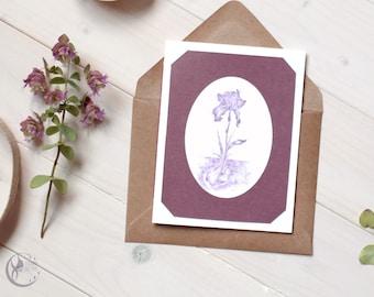 Handmade Nature Illustration Greeting Card