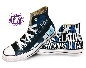converse rouge doctor who