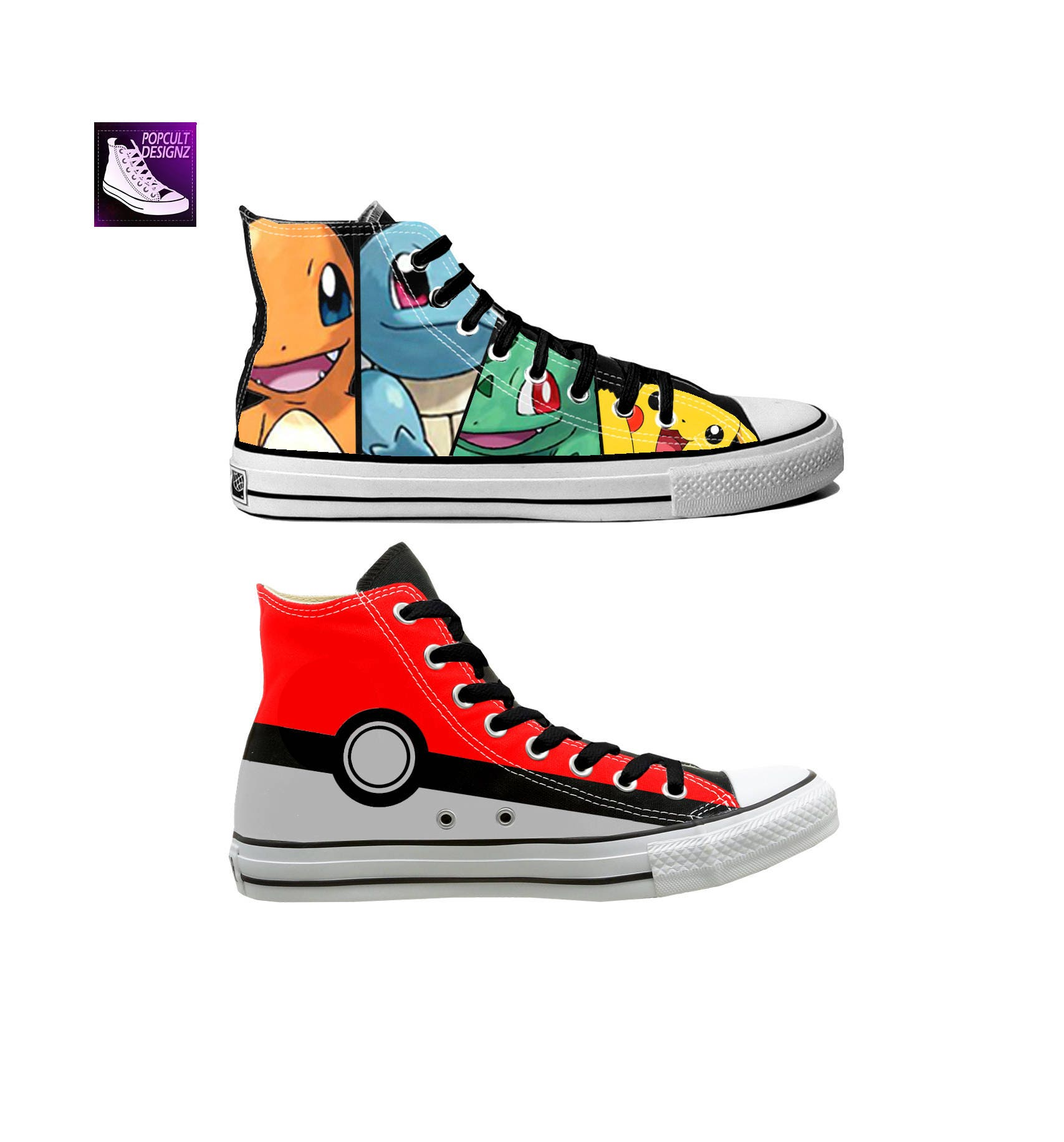 Anime/Video Converse Game Hand Painted Canvas Converse Anime/Video Shoes d49cca