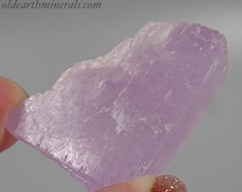 UV Reactive Kunzite Spodumene Crystal