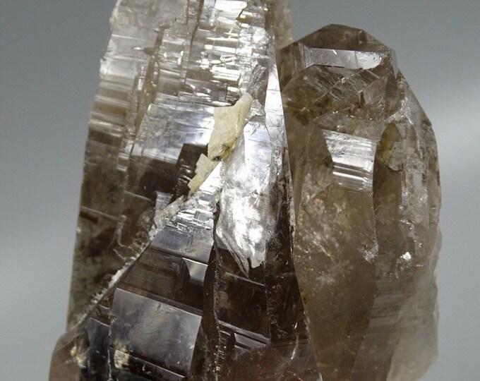 12+ Oz Smoky Quartz Crystal Cluster