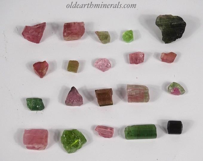 14 Grams Mixed Tourmaline Pieces