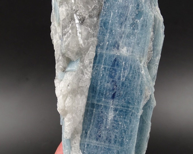 Blue Kyanite With Quartz