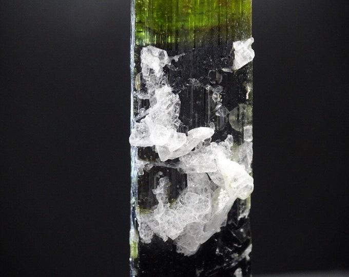 Bi-color Tourmaline Crystal