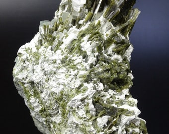 Multiple Epidote Crystals on Matrix