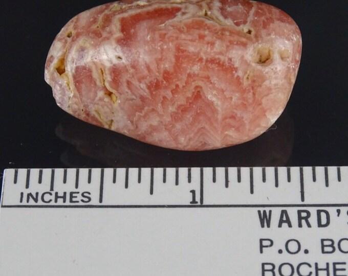 Pretty Pink Polished Rhodochrosite Tumble Stone