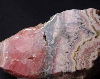Beautiful Argentinian Rhodochrosite Display Piece