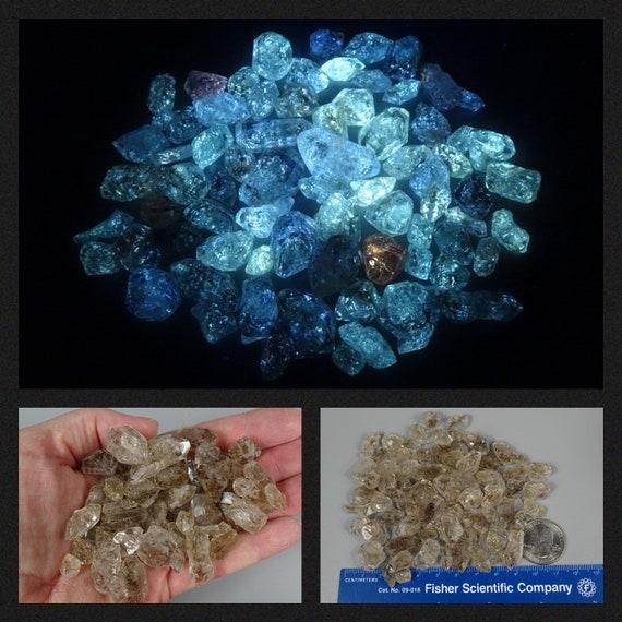 Petroleum Quartz Lot - 97 grams