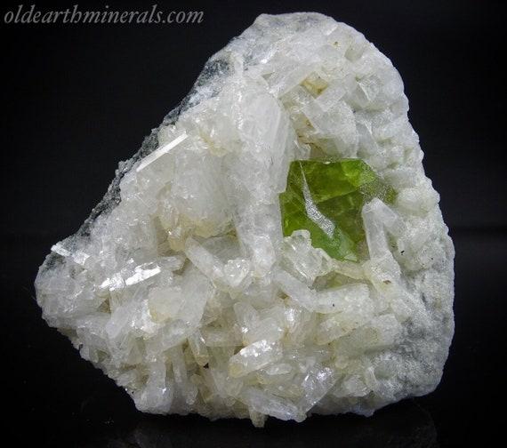Titanite Sphene Crystals with Clevelandite on Colusite Matrix