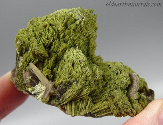 Epidote Crystal Fans with Axinite & Quartz - Peru