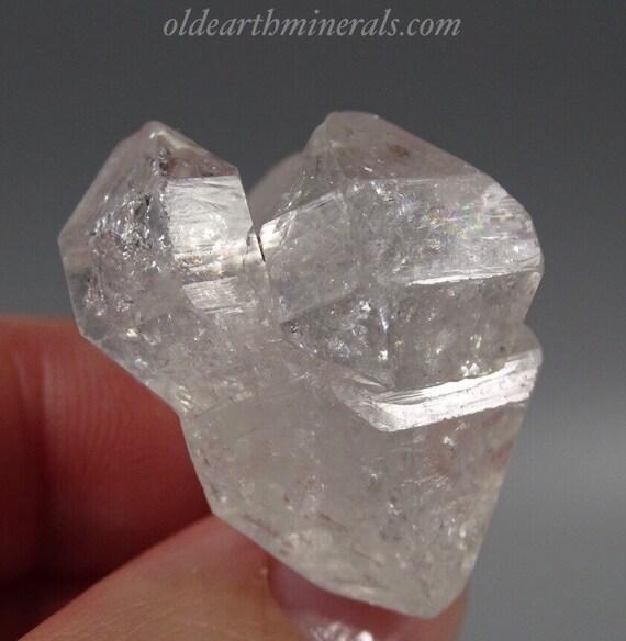 "Clear ""Diamond"" Quartz Crystal Cluster"
