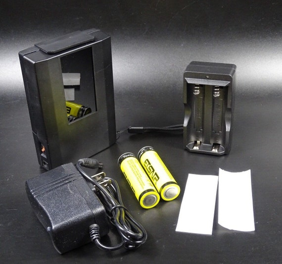 The Triple - 5 Watt UV Handheld Lamp - 254 nm Short Wave, Mid Wave & 365 nm Long Wave with Upgrades and Accessories.