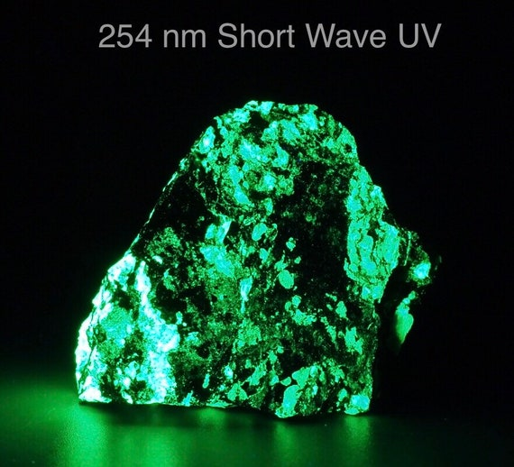 UV Reactive New Jersey Willemite & Franklinite Specimen - Phosphorescent with Short Wave