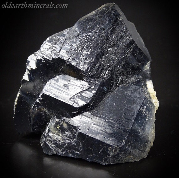 Natural Quartz Crystal with Blue Riebeckite