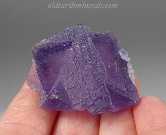 Small Purple Fluorite Cube Cluster