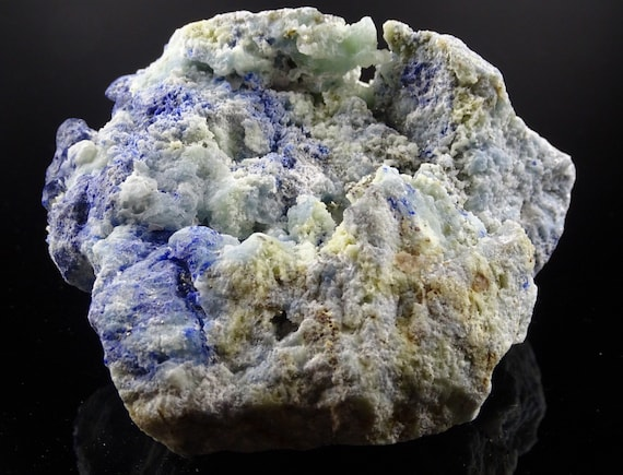 1.9 Lb Fluorescent Afghanite and Pyrite on Matrix