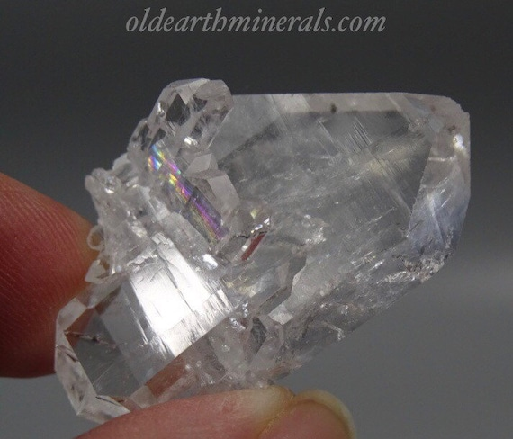 Tabular Faden Quartz Crystal Cluster