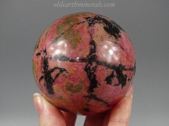 65 mm Rhodonite Sphere
