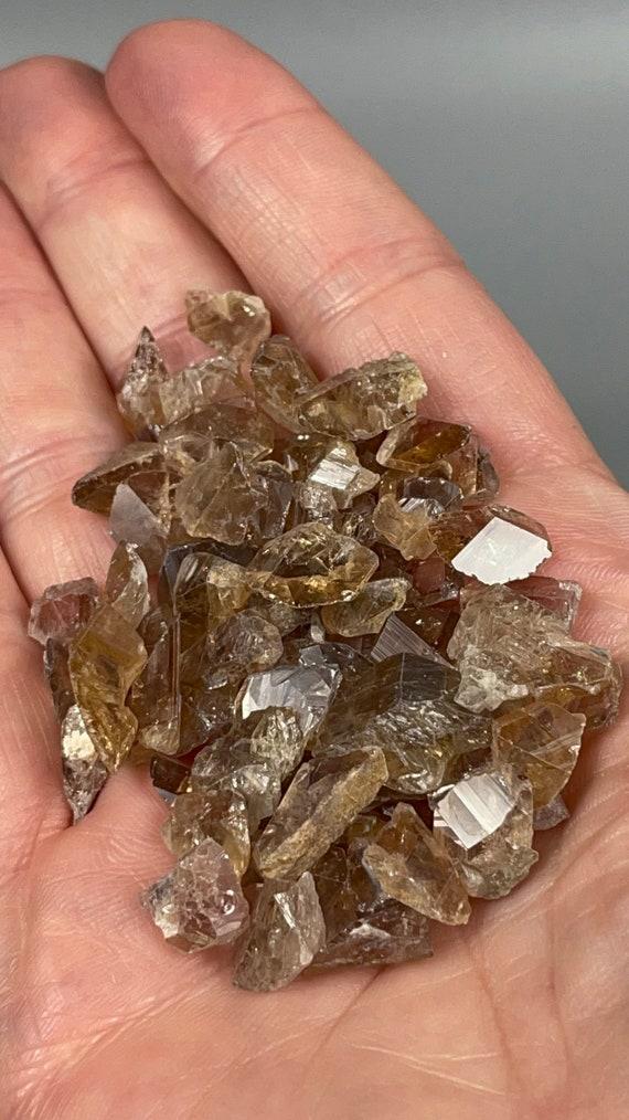 30 Gram Axinite Crystal Lot