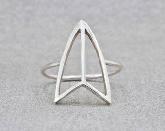 The Kayit - Surfboard Sterling Silver Ring - Charity Donation