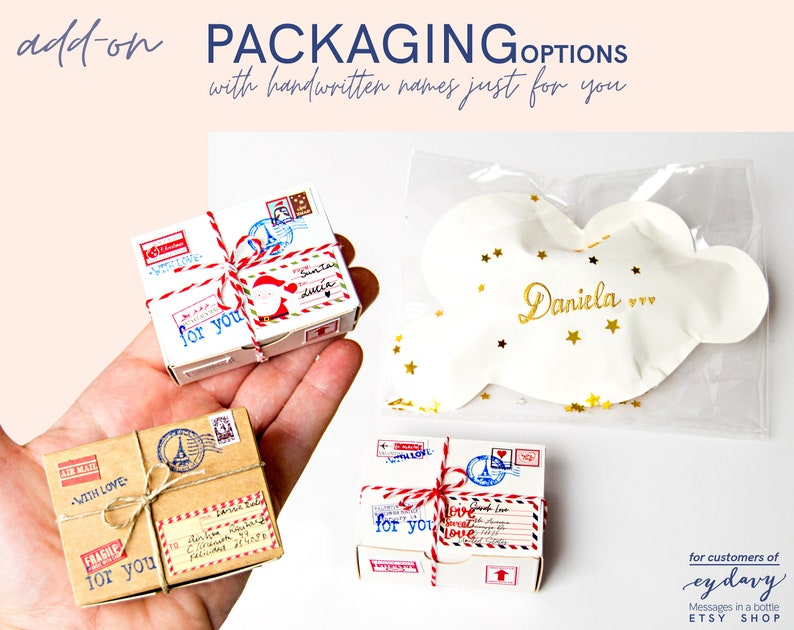 gift packaging Tiny Packages Thoughtful Gifts Packaging for image 0