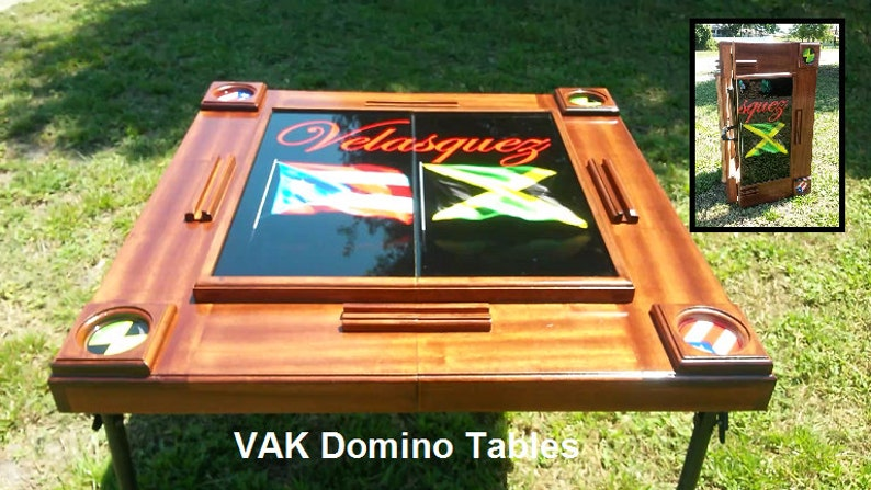 Super Custom Foldable Domino Table Home Interior And Landscaping Ologienasavecom
