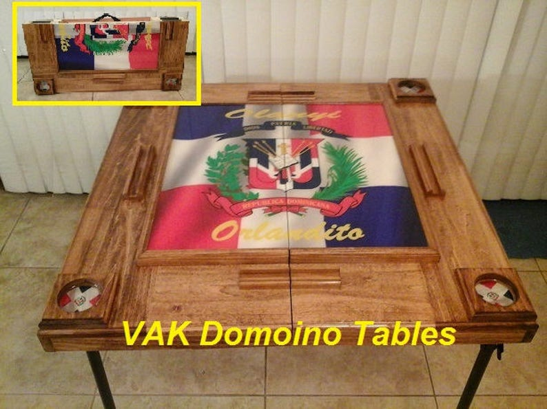 Peachy Custom Domino Table Home Interior And Landscaping Ologienasavecom