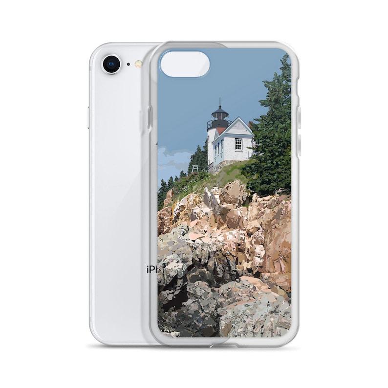 Bass Harbor Head Light iPhone Case