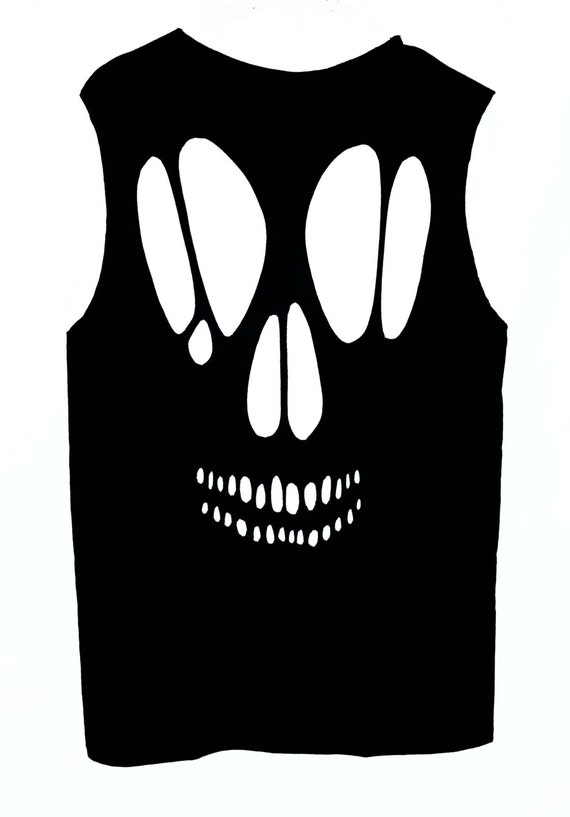 sgdgd Boatneck Sleeveless Vintage Funny Skull Dress with Belt