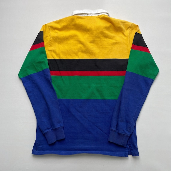 Vintage 80s Polo Uni Crest Rugby Shirt - image 5