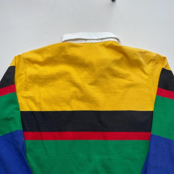 Vintage 80s Polo Uni Crest Rugby Shirt - image 7