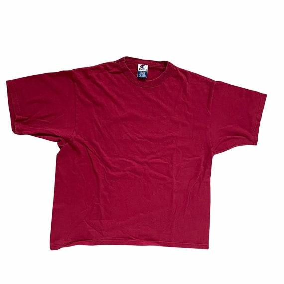 Vintage 90s Champion T-Shirt Blank - image 1