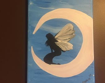 Moon Fairy Canvas