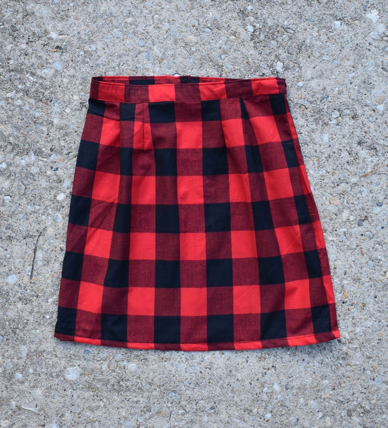 0d3fd9d38c013 Buffalo Plaid Skirt for Women Girls Baby matching dress mommy